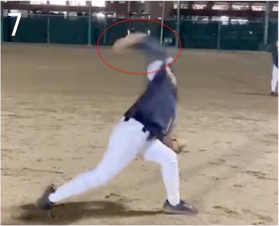 肩や肘に負担がかかり、ケガにつながりやすくなるだけでなく、ハイパフォーマンスも発揮しにくくなってしまいます。