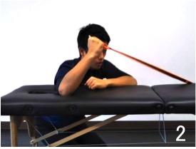 チューブ外旋トレーニングのやり方