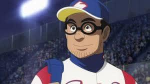 U-NEXTでは人気の野球アニメ「グラゼニ」を見ることができます。