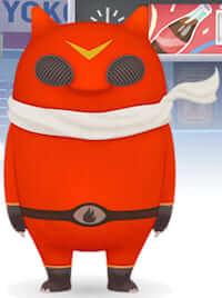 バード&チャピーのショートアニメに登場するファイヤーです。